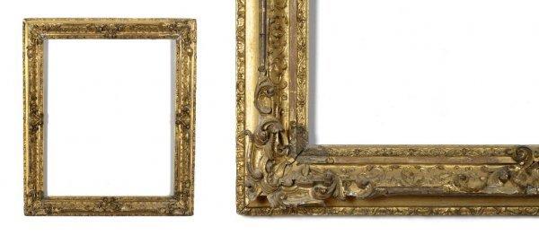 A European, 19th Century Frame. sight size: 24 1/2 x 29