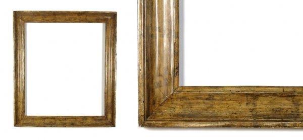 A European, 19th Century Frame. sight size: 25 1/2 x 31