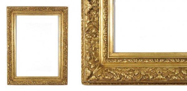 A European, 19th Century Frame. sight size: 25 1/4 x 35