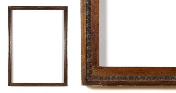 A European, 19th Century Frame. sight size: 29 1/8 x 40