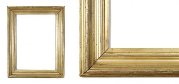 A European, Early 19th Century Frame. sight size: 21 1/