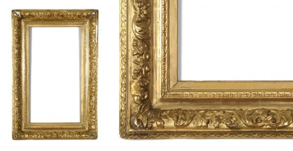 An American, 1880's Frame. sight size: 13 3/8 x 25 x 4