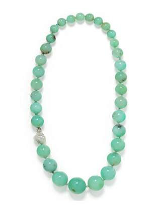 CHRISTOPHER WALLING, CHRYSOPRASE, CULTURED BAROQUE