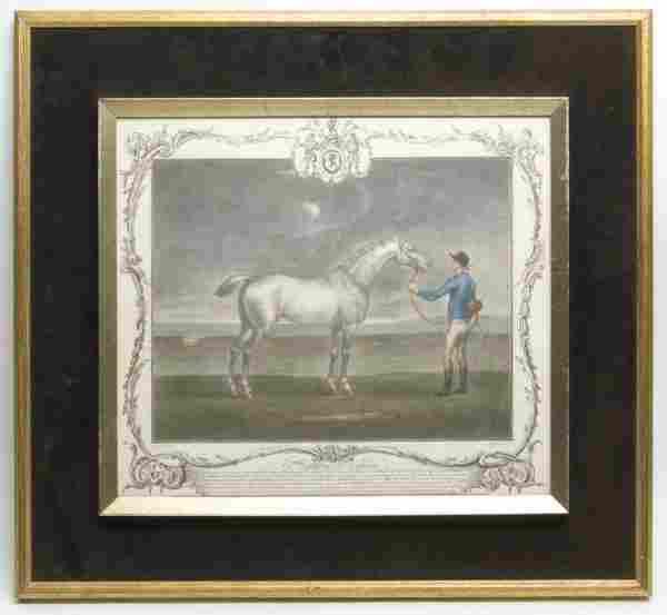 A Set of Three English Mezzotints, Richard Houston, Hei