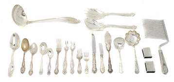 606 A Collection of American Sterling Silver Articles