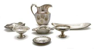 610: A Collection of American Sterling Silver Articles,