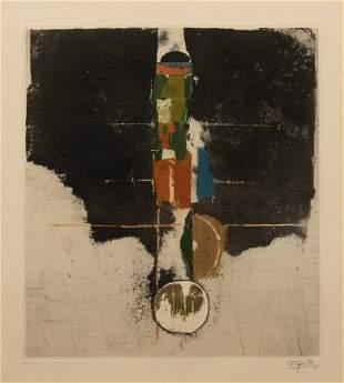 Johnny Friedlaender (German, 1912-1992) Six Works from