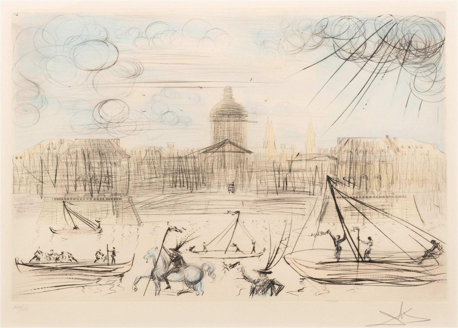 Salvador Dali (Spanish, 1904-1989) Venice