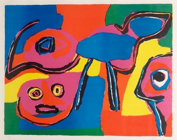 Karel Appel, (Dutch, 1921-2006), Untitled