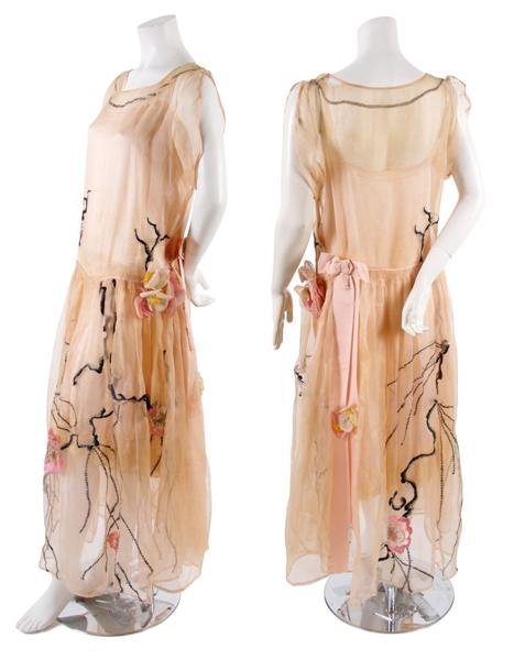 21: A Pale Pink Silk Dress,