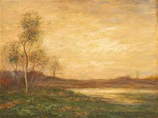 John Francis Murphy (American, 1853-1928) Twilight