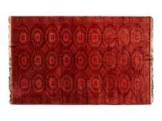 A Bokhara Wool Rug 9 feet 4 inches x 5 feet 11 inches.