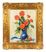 GH Williams American 20th Century Untitled Floral