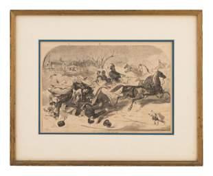 Winslow Homer (American, 1836-1910) Four Engravings