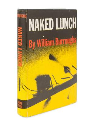 BURROUGHS, William S. (1914-1997). Naked Lunch. New