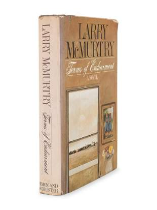 MCMURTRY, Larry (b. 1936). Terms of Endearment.