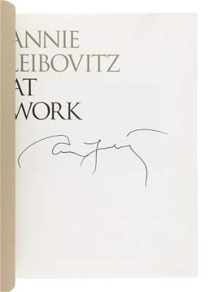 [PHOTOBOOKS]. LEIBOVITZ, Annie (b. 1949). A group of 3