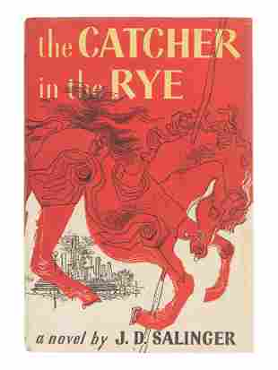 SALINGER, J. D. (1919-2010). The Catcher in the Rye.