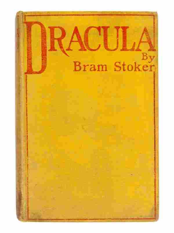 STOKER, Bram (1847-1912). Dracula. Westminster: