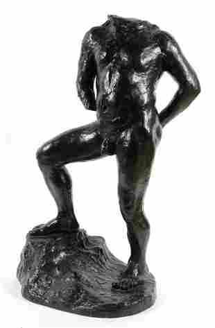 Auguste Rodin, (French, 1840-1917), Balzac Nu G