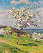 Pierre Roy French 18801950 Tree in Blossom