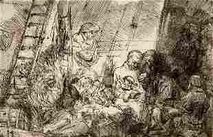 Rembrandt van Rijn, (Dutch, 1606-1669), The Circumcisio