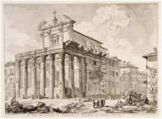 Giovanni Battista Piranesi, (Italian, 1720-1778), Vedut