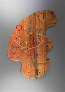 Jay Stanger (b. 1956) Wooden Rug, 1993