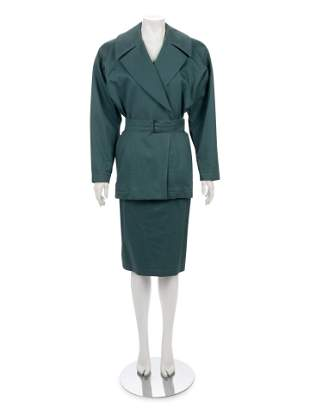 Alaia Two-Piece Skirt Suit, 1980s