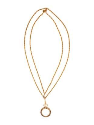 Chanel Monocle Pendant Necklace, ca.1993