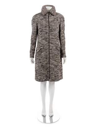 Chanel Tweed Zippered Coat, Fall 2004