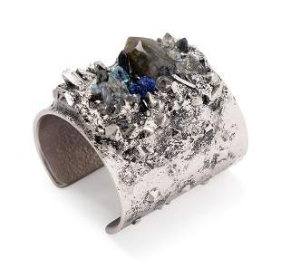 Chanel Stone Encrusted Cuff Bracelet, 2012