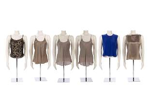 Collection of Armani & Ungaro Blouses and Tops,