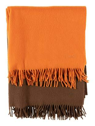 Two Hermes Cashmere Scarves
