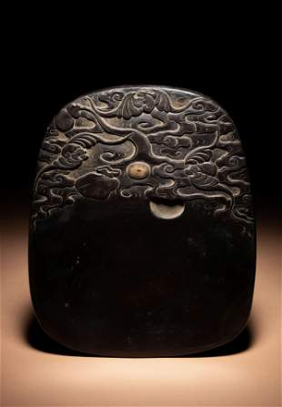 A Carved  uan Ink Stone
