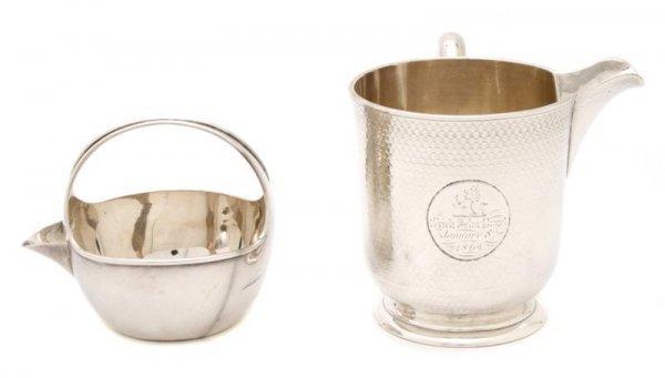716: An English Silver Sauce Cup, Edward Ker Reid, Heig