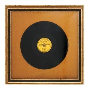 1: An Original 1954 Elvis Presley Sun Records That's Al