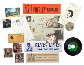 A Collection Of Tupelo, Mississippi, Elvis Presley I