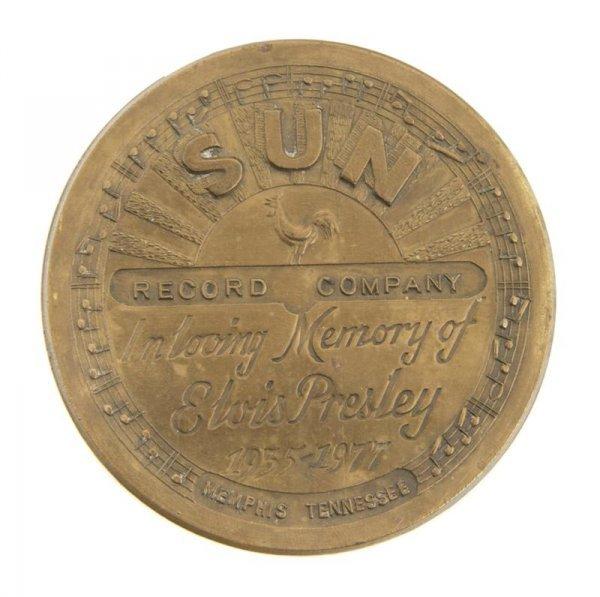 4: An Elvis Presley Commemorative Sun Records Belt Buck
