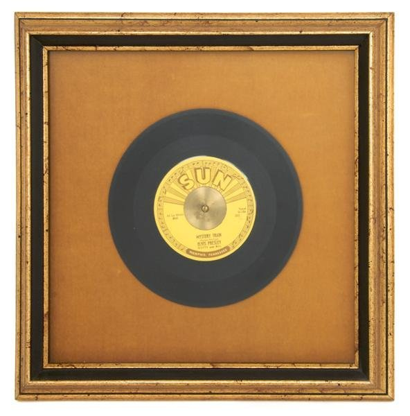 "5: A 1956 45rpm Sun Records Single, Mystery Train"" / ""I"