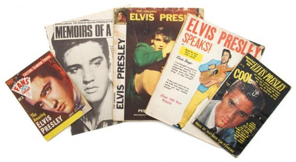 16: A Group of 1956 - 1957 Elvis Presley Magazines,