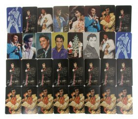 A Collection Of Elvis Presley Pocket Calendars,