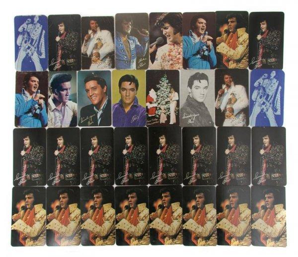 20: A Collection of Elvis Presley Pocket Calendars,