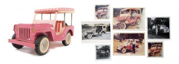 131: A Gifted Elvis Presley Tonka Toy Golf Cart,