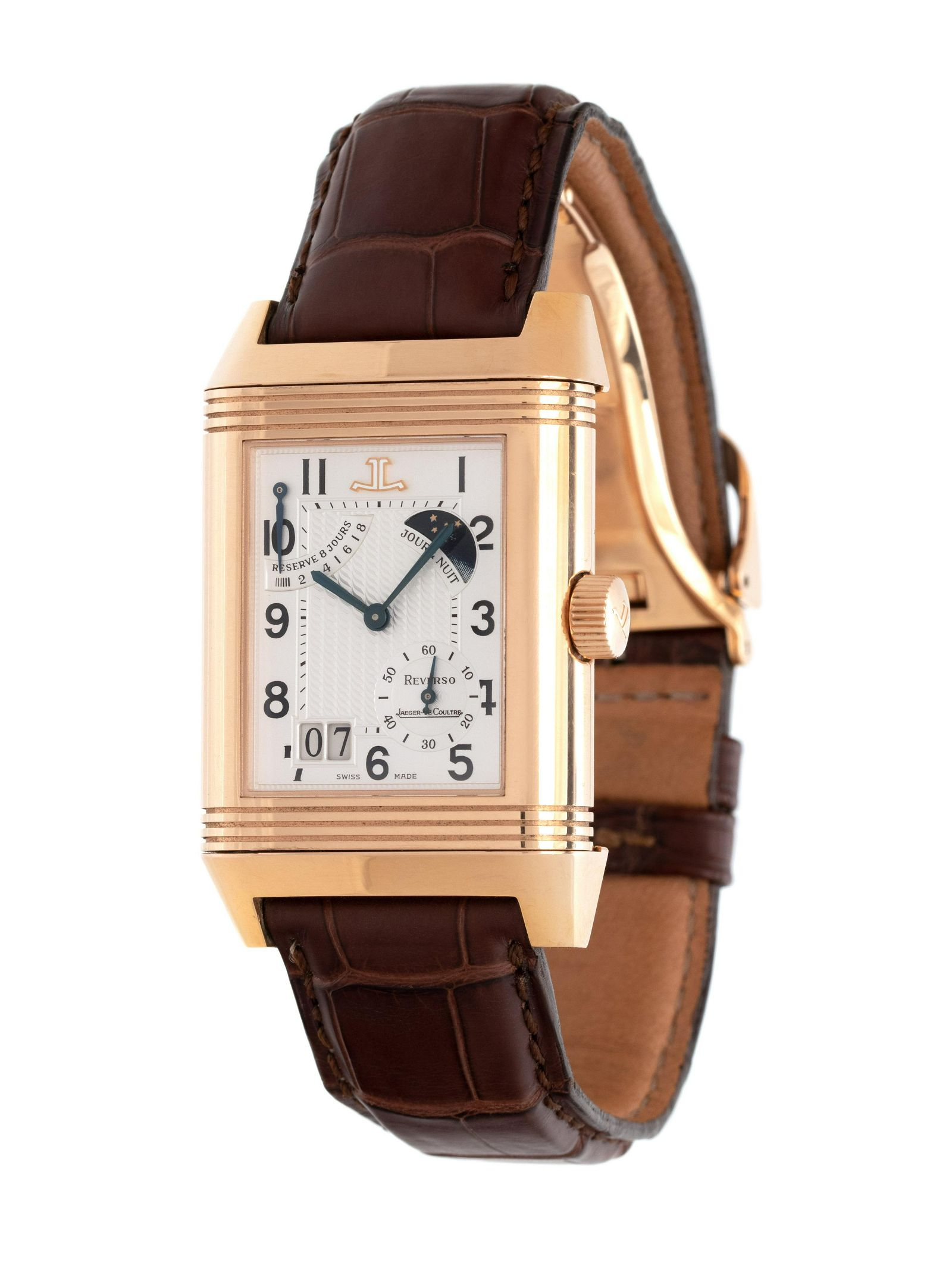 JAEGER-LeCOULTRE, 18K PINK GOLD LIMITED EDITION REF.