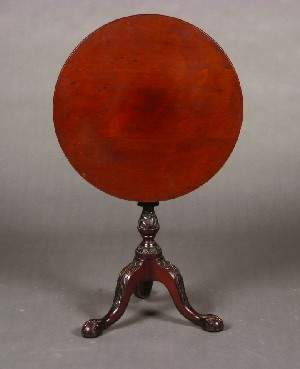 A Chippendale Style Tilt Top Table,