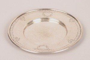 326: An American Silver Dish, J.E. Caldwell and Company