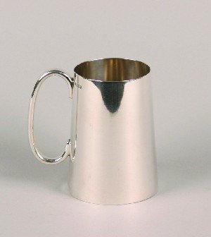 336: A George V Silver Tankard, James Dixon and Sons,