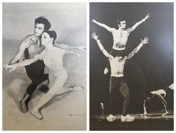 2: A Pair of Photographs Depicting Joffrey Ballet Scene
