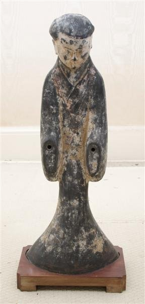 11: A Chinese Han Style Tomb Figure, Height 23 1/2 inch